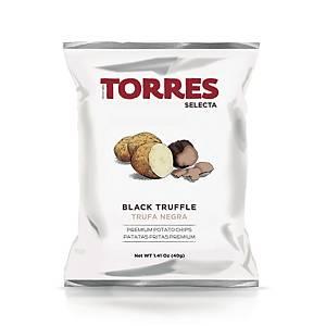 TORRES Selecta Black Truffle Potato Chips 40g