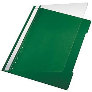 Chemise à lamelle Leitz 4191, A4, PVC, verte, la pièce