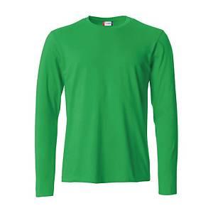 T-shirt manica lunga Clique 029033 verde tg 2XL