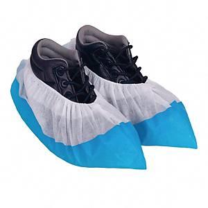 Ochraniacze GFK na obuwie PP+PE, niebieskie, 100 sztuk