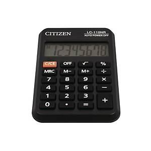 Citizen LC-110NR Taschenrechner, 8-stelliges Display