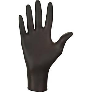 Nitril Einweghandschuhe NITRYLEX CLASSIC, Grösse S, Packung à 100 Stk., schwarz
