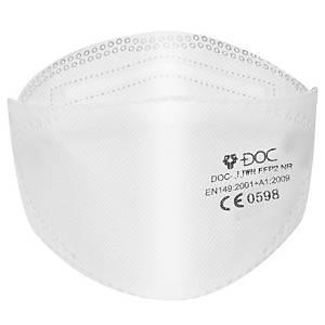 Faltbare Atemschutzmaske DOC JJWH, Type FFP2, Packung à 20Stk.