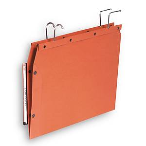 Elba TUB suspension files for cupboards V 350/250 orange - box of 25