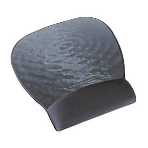 3M MW311BE Precise Mouse Pad with Gel Wrist Rest