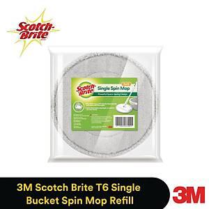 3M Scotch-Brite T6 Microfiber Cloth Spin Mop - Refill