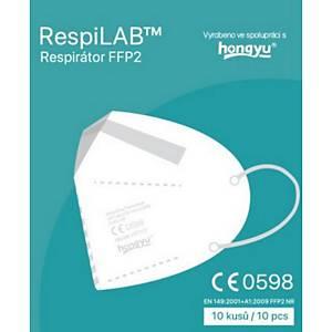 Respilab™ respiratory mask, FFP2, 10 pieces