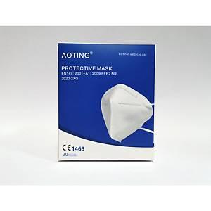 Aoting® Atemschutzmaske, FFP2, 20 Stück