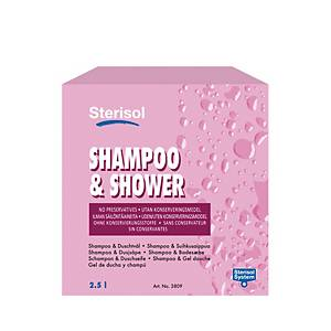 STERISOL SHOWER SOAP SHAMPOO 3809 2.5L