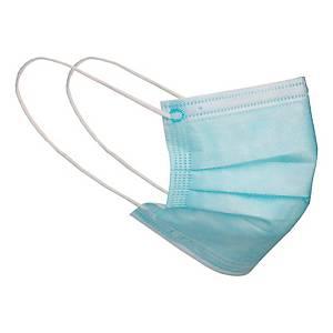 Lifa Air kirurginen suu-ja nenäsuoja type IIR sininen, 1 kpl=50 suojaa