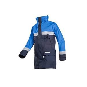Sioen Duffel 3074 hi-viz parka, korenblauw/marine, maat S, per stuk