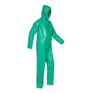 Sioen Essen 5967 overall chemische nijverheid, groen, maat M, per stuk