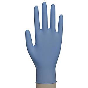 Abena Excelent nitriilikäsine M sininen, 1 kpl=150 käsinettä