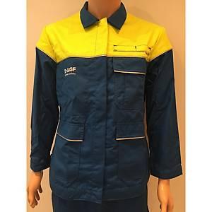 Van Moer 3B32/B312 jas, korenblauw, maat XL, per stuk