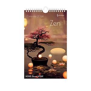 Calendrier Zen, 13 pages