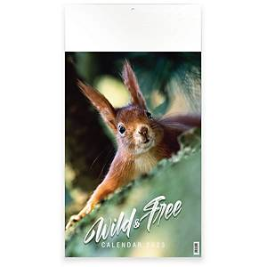 Calendrier Wild&Free, 13 pages