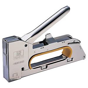 Häftpistol Rapid R23E, krom
