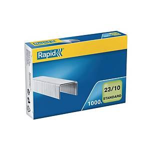 Agrafes Rapid, 23/10, 10 mm, paq. 1000unités