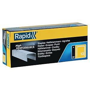 Agrafes fines Rapid n°13, 6 mm, pour pistolet de fixation PRO R23 Tracker