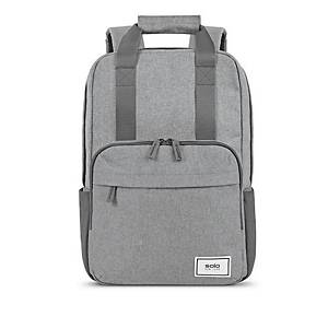 Solo New York RE: Claim laptop backpack 15.6  , gray