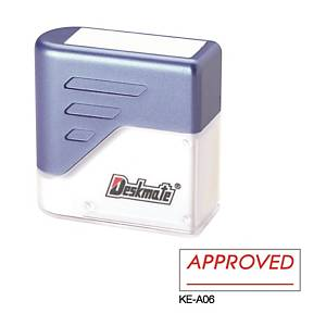 Deskmate KE-A06 [APPROVED_____] Stamp