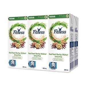 雀巢FITNESS 紅薏米合桃飲品200毫升-6包裝
