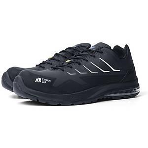 Chaussures de sécurité Mars Black Low, S3 HRO SRC ESD, noires, taille 41