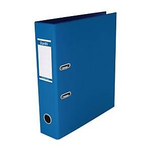 Bantex PVC Lever Arch File A4 3 inch Cobalt Blue