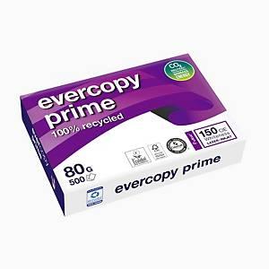 Papier à copier Evercopy Prime A4, 80 g/m2, blanc, paquet de 500 feuilles