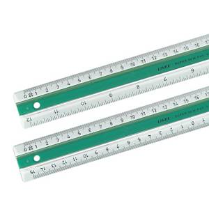 Ruler Linex 40 cm transparent