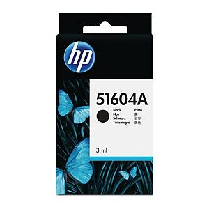 Bläckpatron HP 51604A, 3 ml, svart
