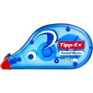 Tipp-Ex® Pocket Mouse correctieroller, 4,2 mm x 10 m, per stuk