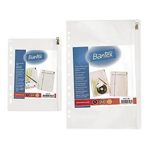 Koszulka BANTEX na suwak 210 x 300 mm, w opakowaniu 10 sztuk