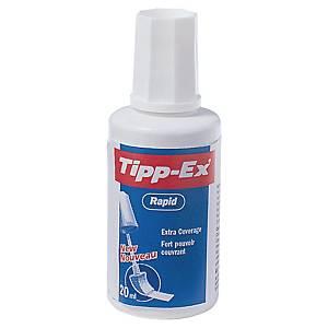 Rettelak Tipp-Ex Rapid, med svamp, 20 ml