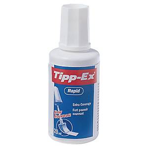KORREKTURLAKK TIPP-EX RAPID MED SVAMP 20 ML