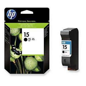 HP C6615D inkjet cartridge nr.15 black [500 pages]