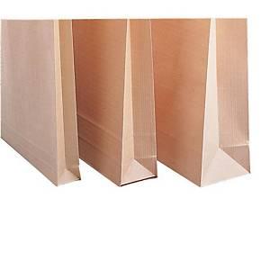 Pochettes indéchirables brunes Gascofil, C4, bande siliconée, 229x324mm, les 250