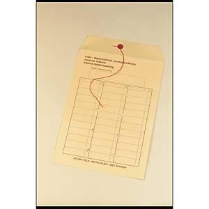 Enveloppen voor interne post, crèmekleurig, 120 g, 250 x 350 mm, 250 omslagen