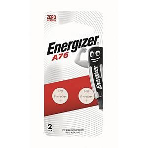 勁量 鹼性電池 LR44/A76 - 2粒裝