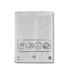Mail Lite White Bubble Lined Postal Bags K/7 350 X 470mm - Box of 50