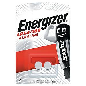 Knapcelle batterier Energizer Alkaline D189, pakke a 2 stk.