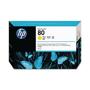 Cartuccia inkjet HP C4873A N.80 1650 pag giallo