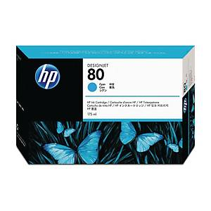 Cartuccia inkjet HP C4872A N.80 1650 pag ciano