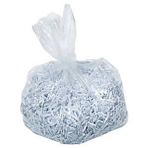 Rexel AS1000 shredder bags for shredders 115 liters - pack of 100