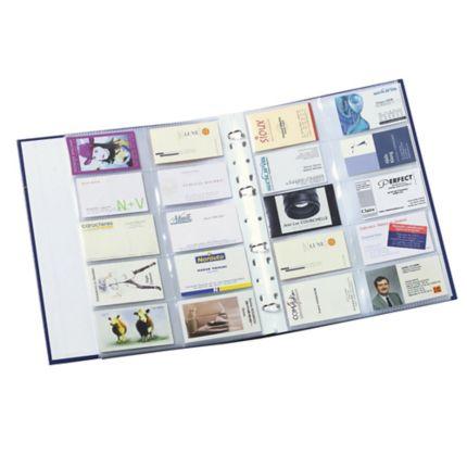 Prospekthüllen A4 Für Visitenkarten Je Bis Zu 20 Karten Pp