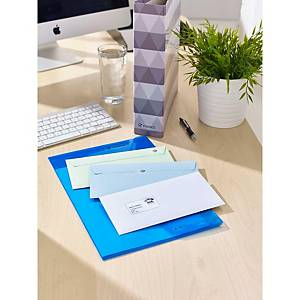 Caixa de 350 etiquetas adesivas Avery L7563-25 - 99,1x38,1mm - transparente