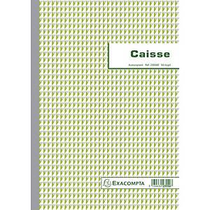 Exacompta 23550E CAISSE, 50 blad doorschrijfpapier dupli