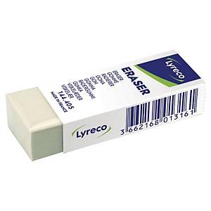 LYRECO MULTI-PURPOSE ERASER IN CARDBOARD SLEEVE
