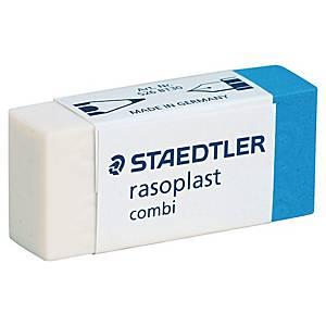 Gomme Staedtler® rasoplast combi 526, pour crayon et encre, fourreau en carton