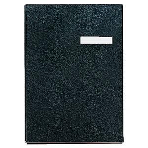 Esselte Black 245mm X 340mm 20 Page Signature Book